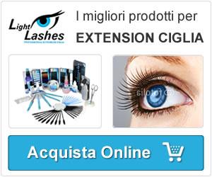 vendita on line prodotti proffesionali per extension ciglia