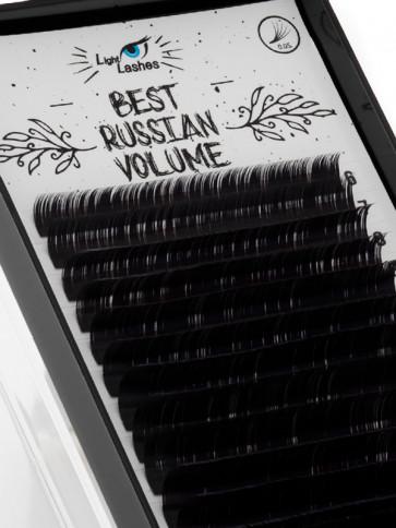 """""""Best Russian Volume"""" 18 STRISCE CC-curl nere"""
