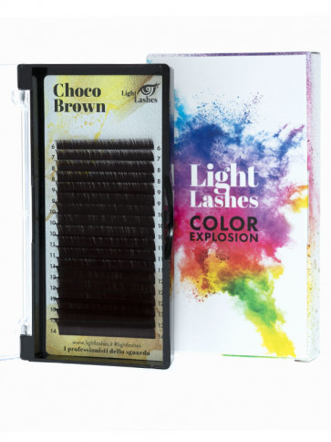 Color Explosion CHOCO BROWN C-curl