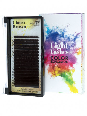 Color Explosion CHOCO BROWN CC-curl
