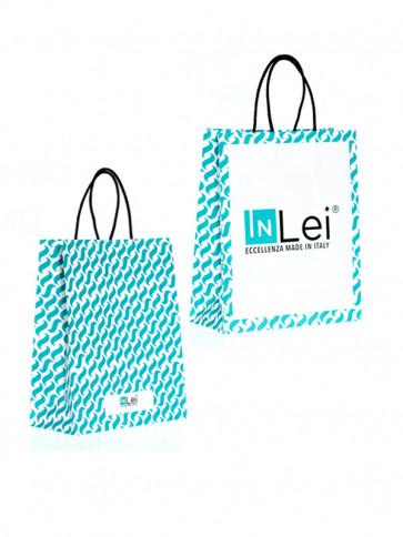 InLei borsetta di carta con stampa personalizzata del Brand