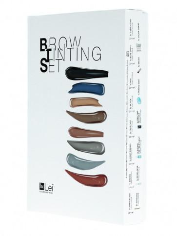 """InLei kit colorazione ciglia e sopracciglia """"BROW TINTING SET"""""""