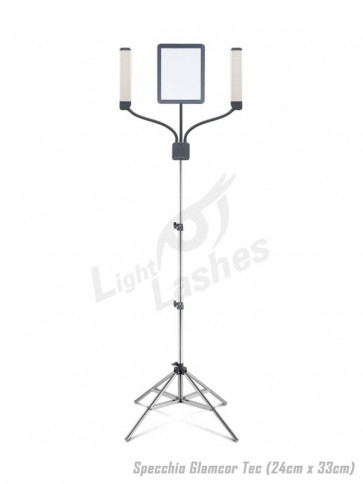 Lampada a LED Glamcor Multimedia Extreme con funzione selfie