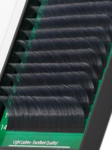 Mink Exclusive 2Tone (nero+silver) B-curl