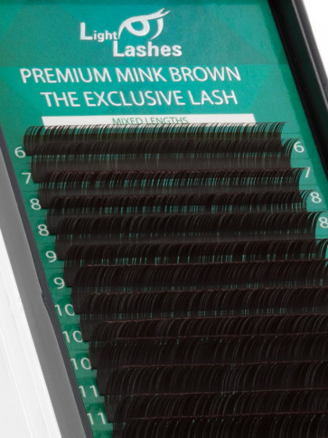 Mink Exclusive chocolate brown CC-curl