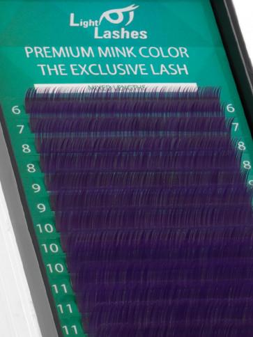 Mink Exclusive purple B-curl