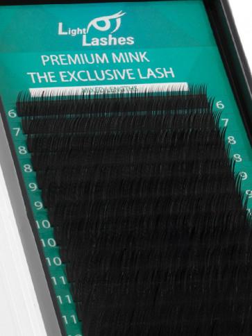 "Premium Mink ""Exclusive"" 18 STRISCE B-curl"