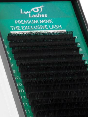 "Premium Mink ""Exclusive"" 18 STRISCE D-curl"