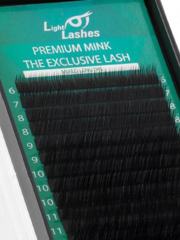 "Premium Mink ""Exclusive"" 18 STRISCE L+-curl"
