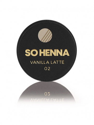 SO HENNA Brow Henna Colore - 02 Vanilla Latte