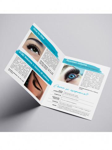 Volantini pubblicitari Extension Ciglia conf. da 50 pz