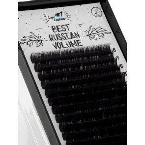 """Best Russian Volume"" 18 STRISCE C-curl nere"