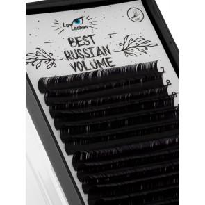 """Best Russian Volume"" 18 STRISCE D-curl nere"