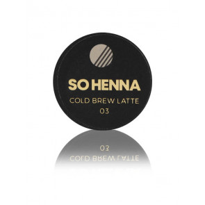 SO HENNA Brow Henna Colore - 03 Cold Brew Latte
