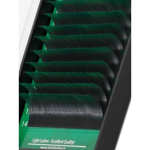 Mink Exclusive 2Tone (nero+verde) B-curl
