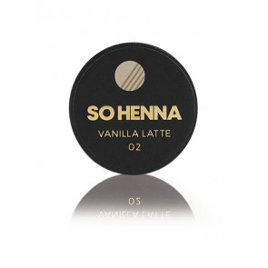 SO HENNA Brow Henna Colore - 02 Vanilla Latte