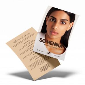 Volantini aftercare SoHenna conf. da 30 pz