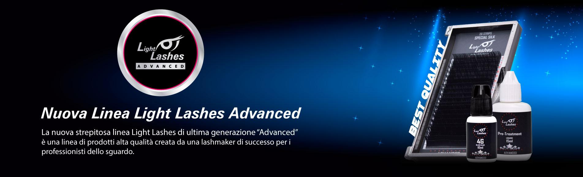 Scopri la fantastica nuova linea di prodotti Light Lashes Advanced